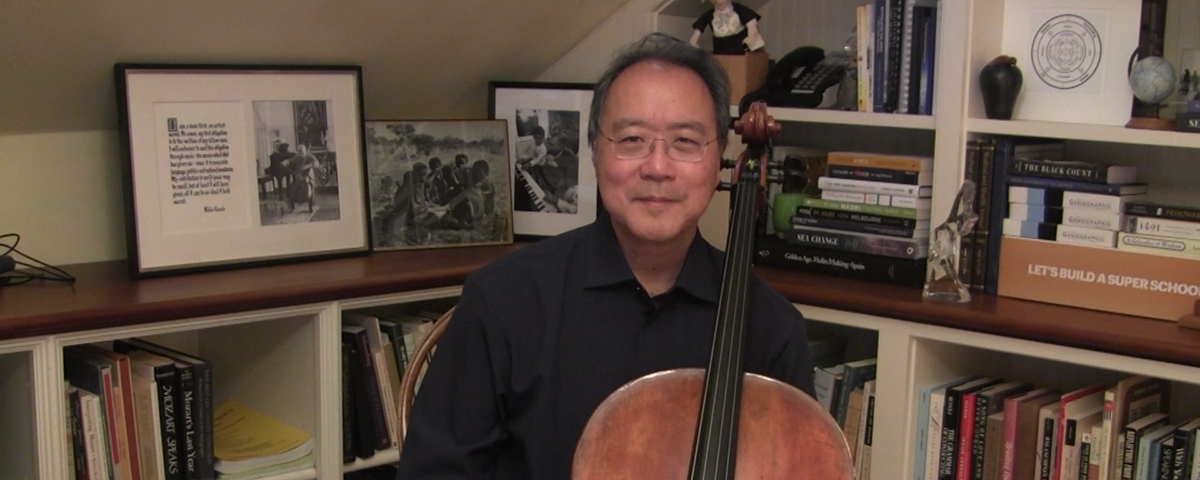 """Yo-Yo Ma: """"Krunk means something very special because it represents a mix of sorrow and hope"""""""