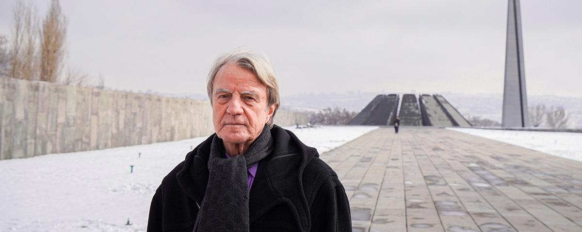 Aurora Prize Selection Committee Member Bernard Kouchner Visits Armenia and Artsakh