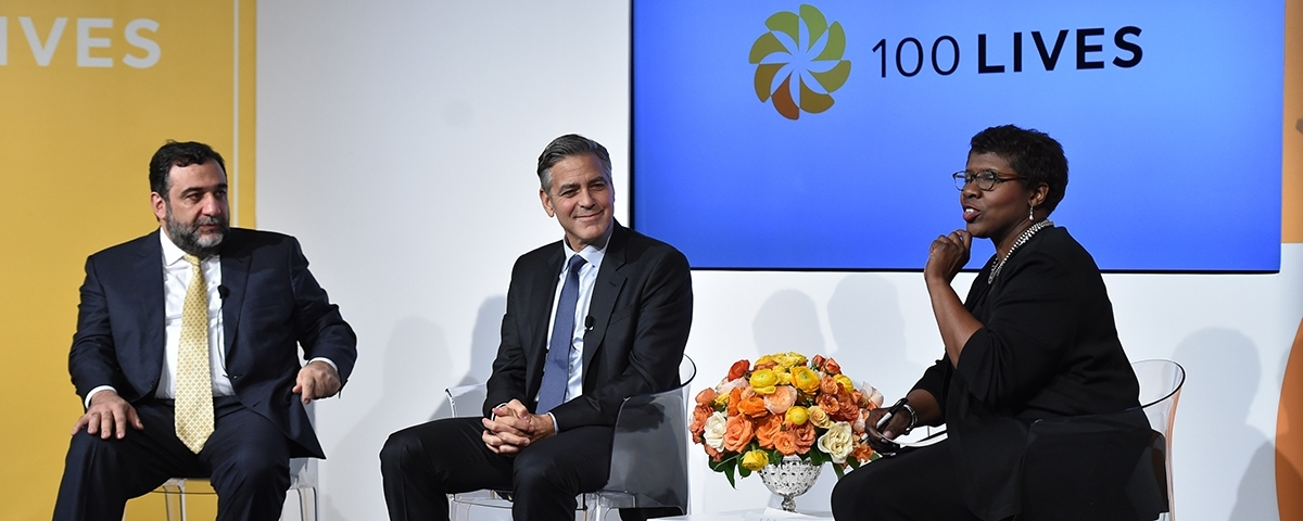 The global launch of 100 LIVES