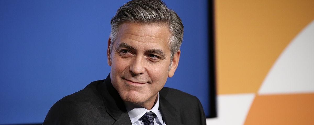 """George Clooney: """"These are unusual times, particularly unusual for the people of Armenia"""""""