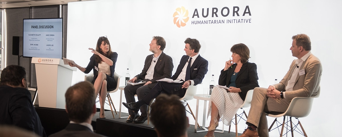 Launch of the 2018 Aurora Humanitarian Index