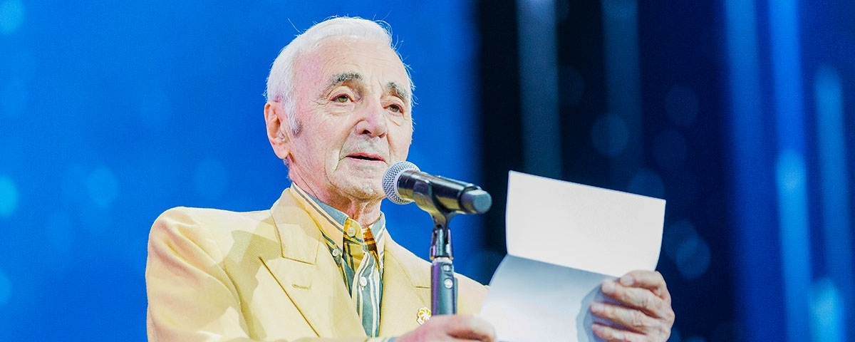 Aurora announces scholarship in honor and in gratitude to Charles Aznavour