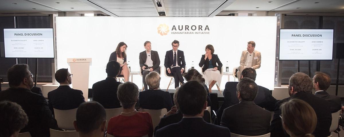 PHOTOS: 2018 Aurora Humanitarian Index Launch