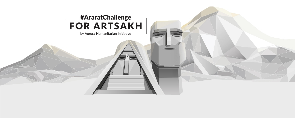 #AraratChallenge For Artsakh: AURORA announces the main principles for its work on projects to help people of Artsakh