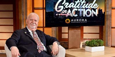 Vartan Gregorian. The Aurora Co-Founder