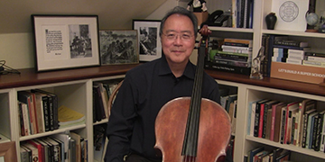 "Yo-Yo Ma: ""Krunk means something very special because it represents a mix of sorrow and hope"""