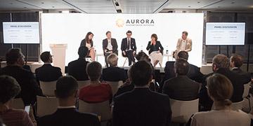 FOTOS: Vorstellung des Aurora Humanitarian Index 2018