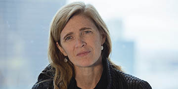 "Samantha Power: ""This spirit of shared humanity is what makes us stronger"""