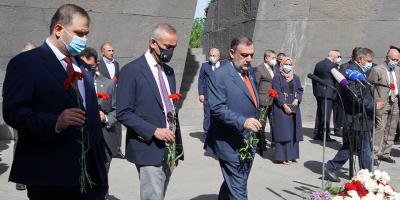 Aurora Commemorates Armenian Genocide